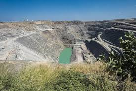 De Beers' Ventia diamond mine in the Limpopo province of South Africa is transitioning from an open-pit operation to an underground mine. Image credit: Anglo American