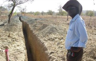Asante Gold has commenced with a trenching programme at their Kubi Main lease area in Ghana. Image credit: Asante Gold