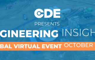 CDE Launches Engineering Insights Virtual Event