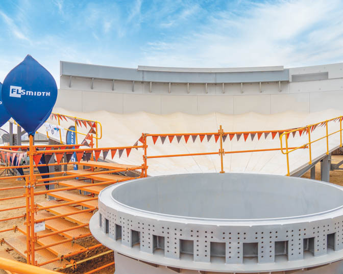The dewatering tanks were completed ahead of schedule. Image credit: Betterect