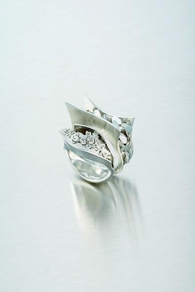 Christina Toros, Prins & Prins, rings category. Image credit: Anglo American Platinum