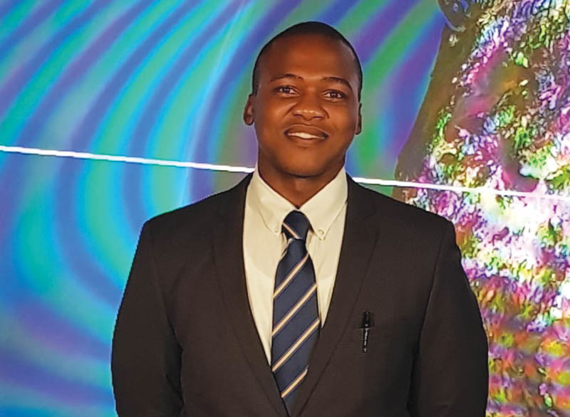 Dion Lusinga, sorting business development manager at IMS Engineering. Image credit: IMS Engineering