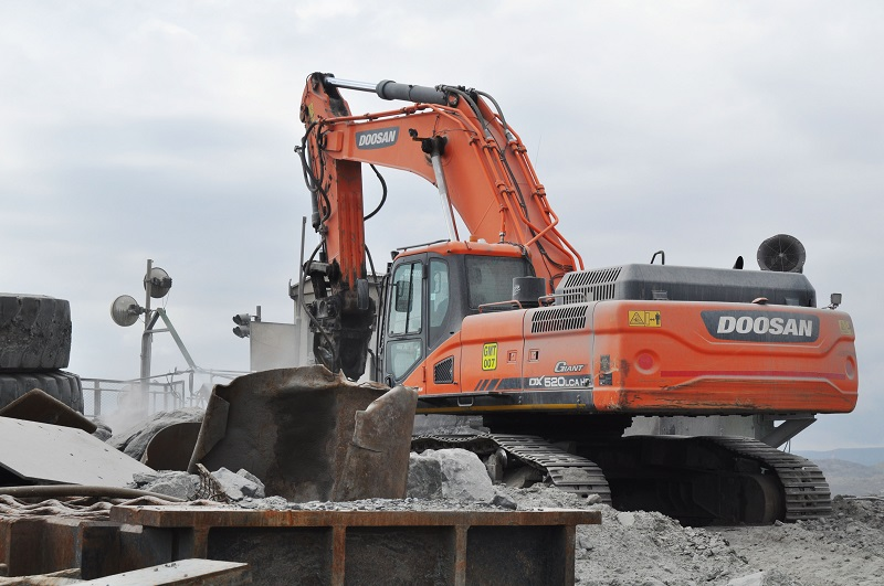 Doosan has sold its 3000th machine in South Africa. Image credit: Doosan