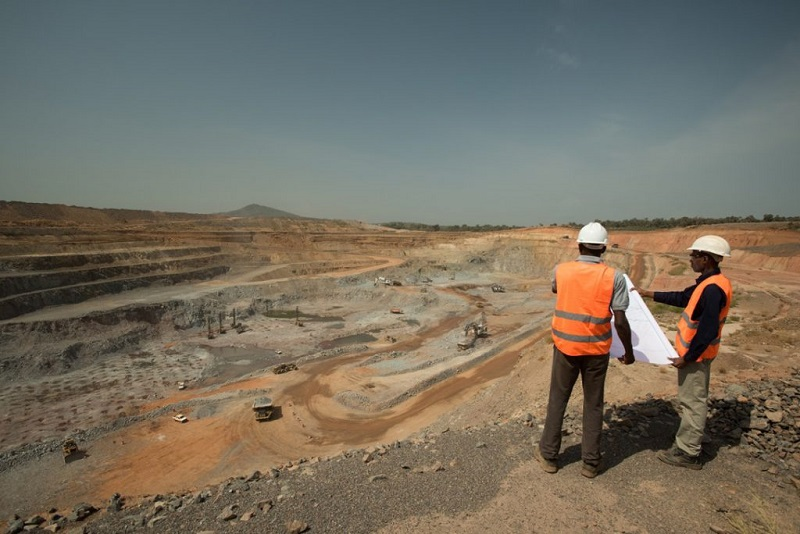 The Masawa gold mine in Senegal, West Africa. Image credit: Endeavour