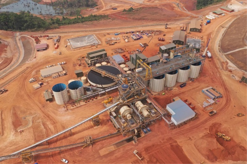 Endeavour Mining's Ity fold mine in Côte d'Ivoire. Image credit: Endeavour