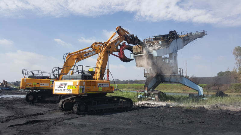 Mechanisation key to demolition
