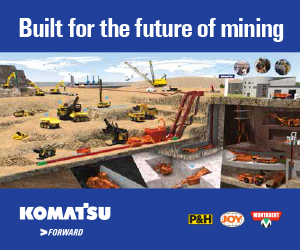 Komatsu Mining Corp. is home to the industry-leading P&H, Joy and Montabert equipment and service brands for mining and related industries. The company's history in Milwaukee dates back to the origin of the P&H brand in 1884.