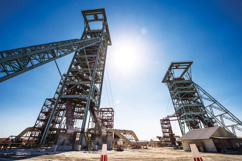 De Beers' Venetia diamond mine in the Limpopo province of South Africa is preparing to transition to an underground operation. Image credit: De Beers