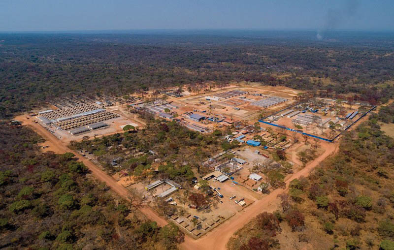 The Kakula copper mine in the DRC is on track for first production in quarter three of 2021. Image credit: Ivanhoe Mines