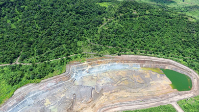 Syrah Resources's Balama open mine in Mozambique. Photo by Syrah Resources