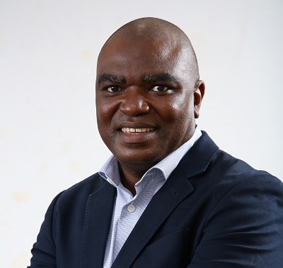 Ivan Doku, new country manager for SRK Consulting in Ghana. Photography by Jeremy Glyn for SRK in February 2021