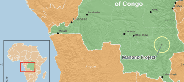 AVZ Minerals' Manono project in the DRC. Photo by AVZ Minerals
