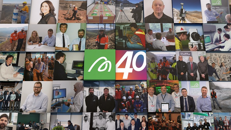 Maptek is 40 years old this year. Photo by Maptek
