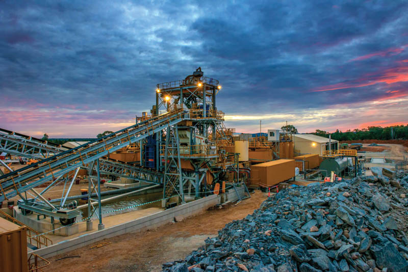 Global mining production dropped significantly in 2020. Photo by Speedcast