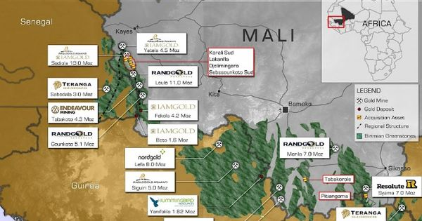 Altus Strategies is doing exploration work in Mali. Photo by Altus