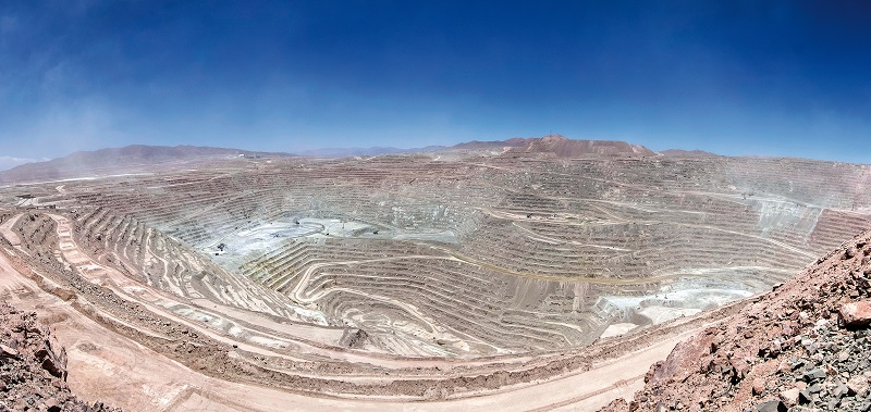 BHP's Escondida copper mine in Chile. Photo by BHP