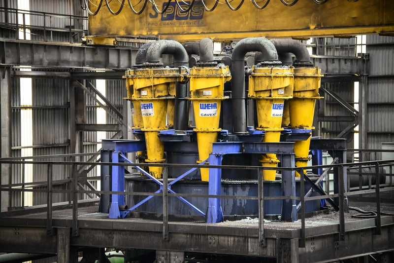 The new Cavex 2 hydrocylone maintains the 360° laminar spiral design that was successful for the pioneering Cavex model. Photo by Weir Minerals