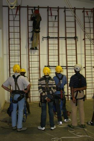 Rope-access specialist Skyriders operates the Heightwise Training Academy in Midrand. Photo by Skyriders