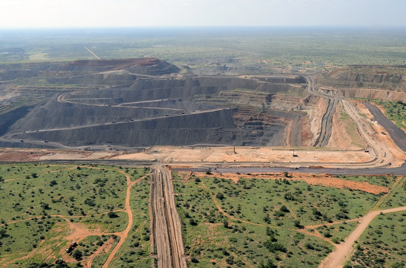 The Tshipi Borwa manganese mine. Photo by Tshipi
