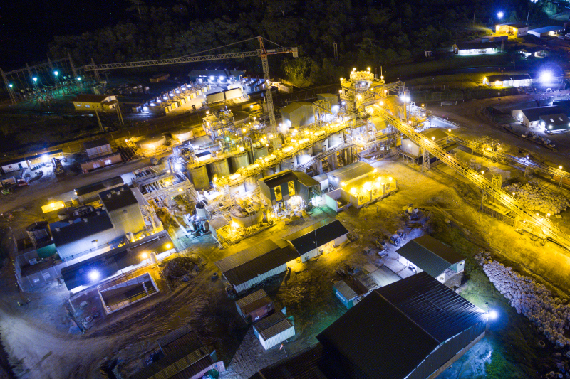 Perseus's Edikan gold mine in Ghana has performed strongly in the March 2021 quarter.  Photo by Perseus