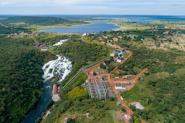 Hydropower from the Inga power station in the DRC for Ivanhoe's Kamoa copper project. Photo by Ivanhoe Mines