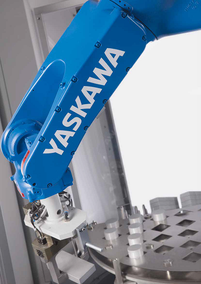 Aside from repetitive tasks, robots can assist with strenuous – and sometimes dangerous – functions that take place in factories. Photo by Yaskawa Southern Africa