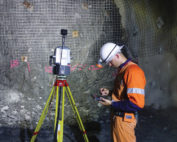Maptek Sentry monitors underground operations to record and report on subsidence and convergence, allowing early identification of movement for keeping personnel and equipment safe. Photo by Maptek