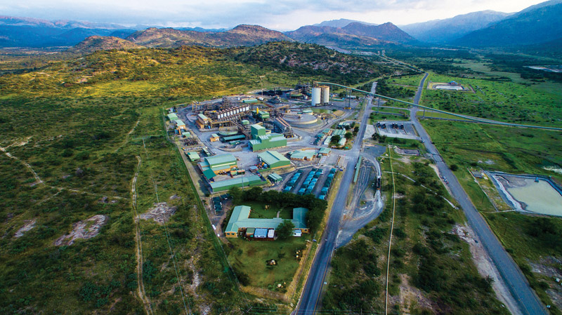 A fully mechanised underground platinum mining operation that employs over 3 200 employees, Two Rivers is a joint venture between African Rainbow Minerals (ARM) (54%) and Impala Platinum (46%), which is managed by ARM. Photo by DataCentrix