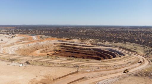 East Manganese opencast mine. Image by Menar